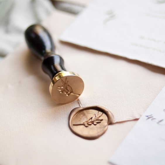 Wax seal stamp wedding Malaysia