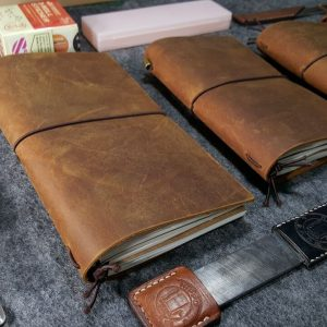 Leather Travelers Notebook Journal Stationery MAlaysia