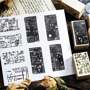 rubber stamp journal stationery Malaysia
