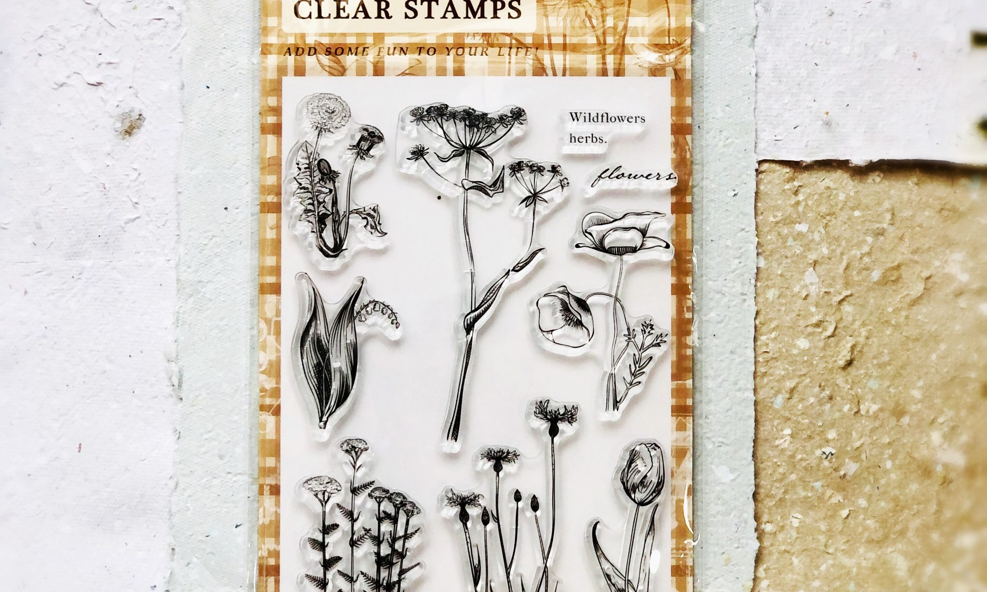 Acrylic Clear Stamps Vintage Designs Tim Holtz