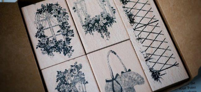 Benchu Studio Nature series secret garden stamp set