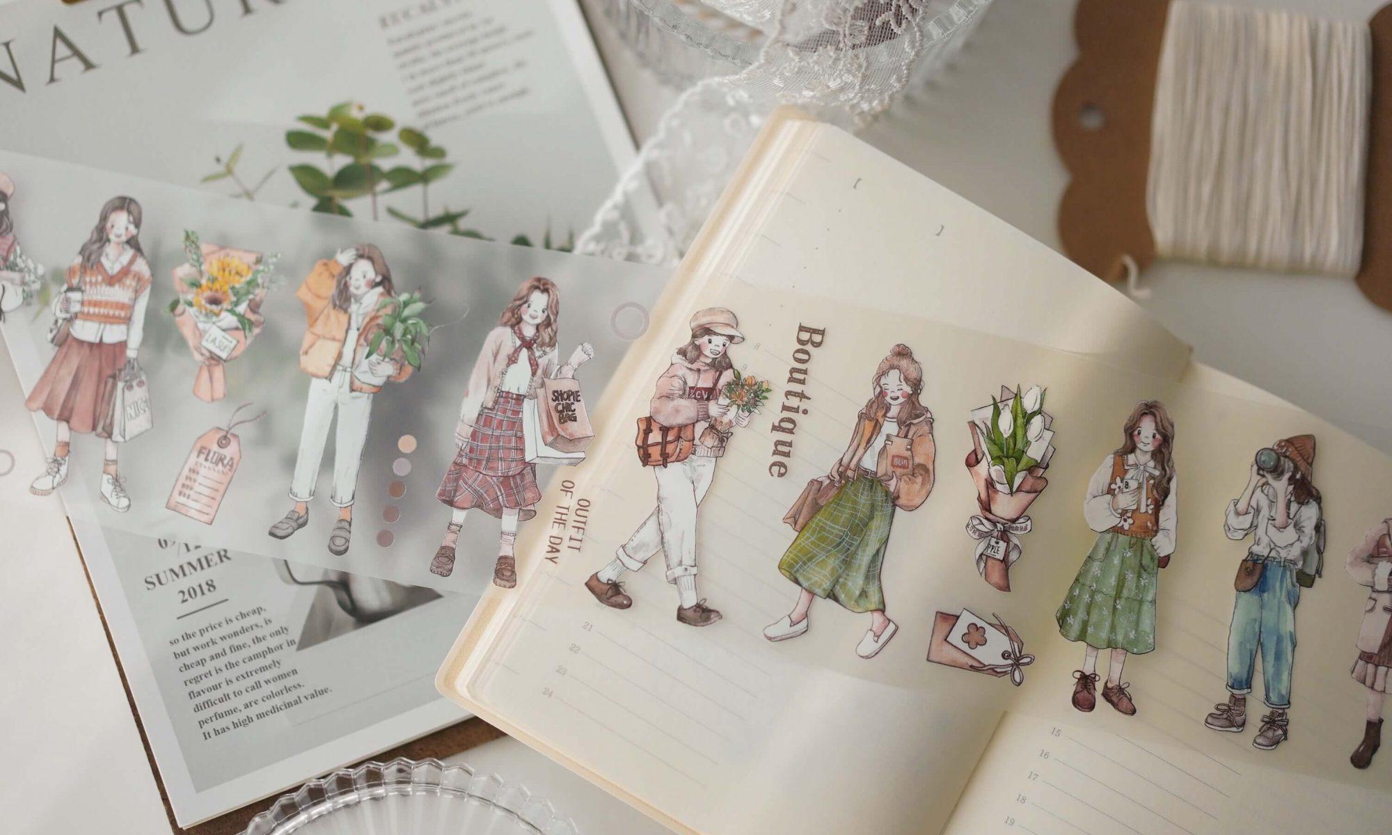 Washi Tape Set DIY Decorative Masking Tapes