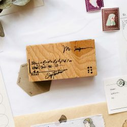 Memo Wooden Stamp Series A